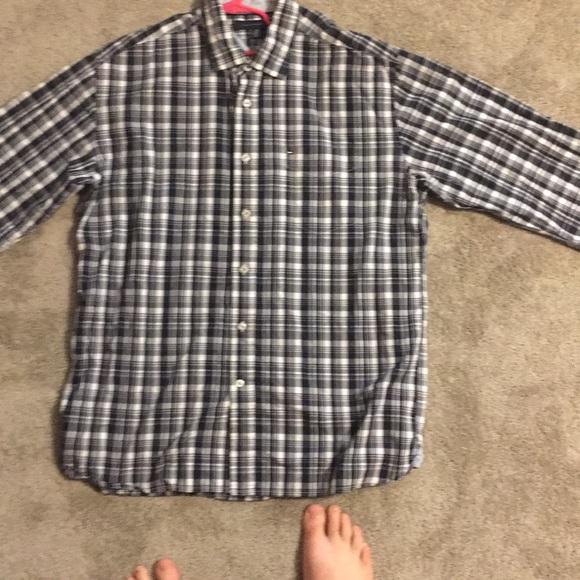 e8c60a52 Tommy Hilfiger Shirts | Plaid Buttondown Shirt | Poshmark